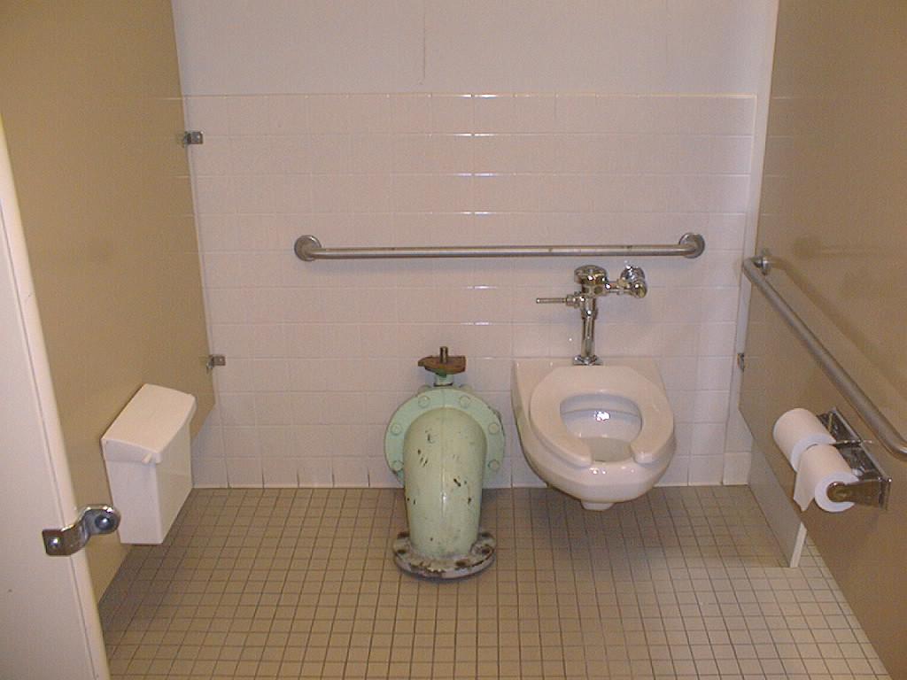 Handicap Bathroom Stall ec-1w - bathroom tour