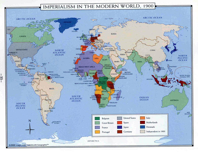 Map Of Asia During Imperialism.Maps