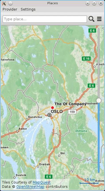 Places (QML) | Qt Location 5 7