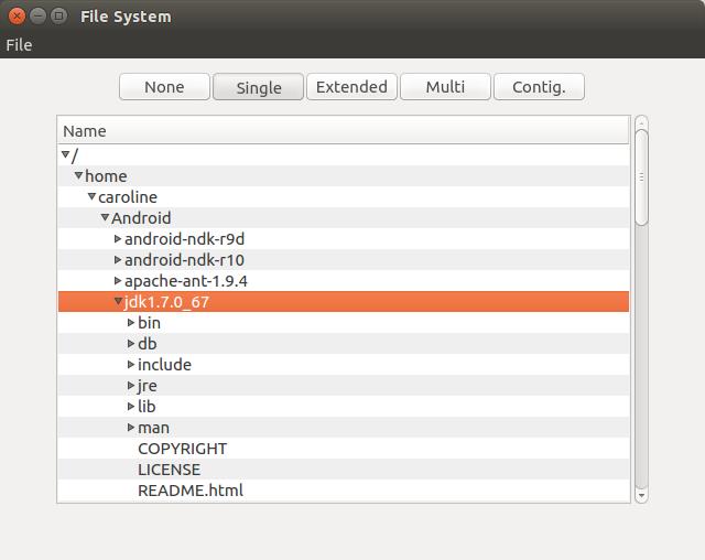 Qt Quick Controls - File System Browser Example | Qt Quick