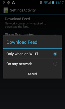 Managing Network Usage | Android Developers