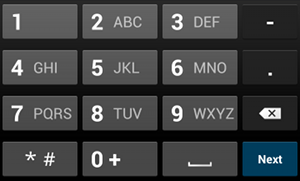 Specifying the Input Method Type | Android Developers