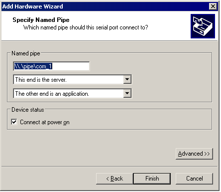 Connecting an Application on the Host to a Virtual Machine