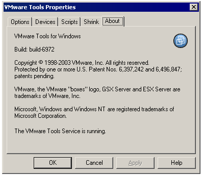 windows 2000 vmware tools